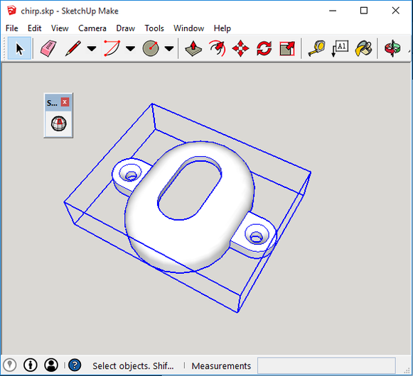 Sketchup and 3d printing george timmermans for Stl file sketchup